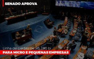 Senado Aprova Linha De Crédito De R$190 Bi Para Micro E Pequenas Empresas - Notícias e Artigos Contábeis