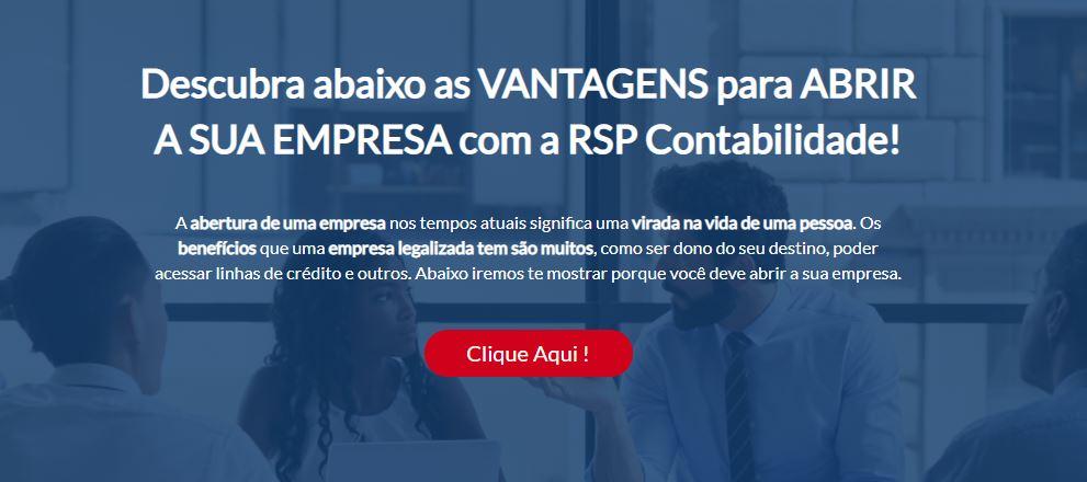 Abra Sua Empresa - Contabilidade em São Paulo | RSP Contabilidade