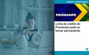 Linha De Credito Do Pronampe Pode Se Tornar Permanente - Abrir Empresa Simples